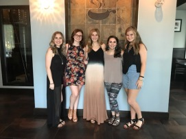 Cara's Bachelorette Dinner